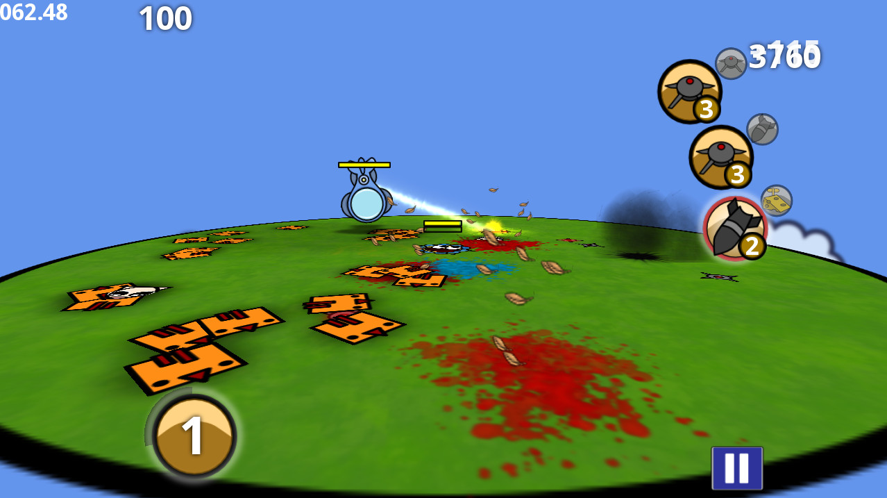 Screenshot of Chickens n Kittens